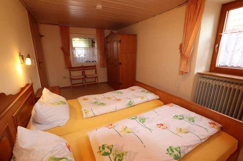 Doppelzimmer Ferienwohnung Adambauernhof