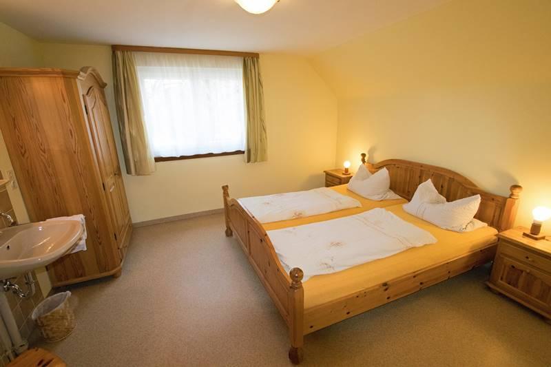 Doppelzimmer der Ferienwohnung 2