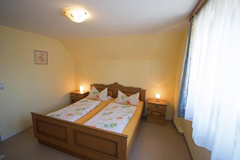 Doppelzimmer der Ferienwohnung 3