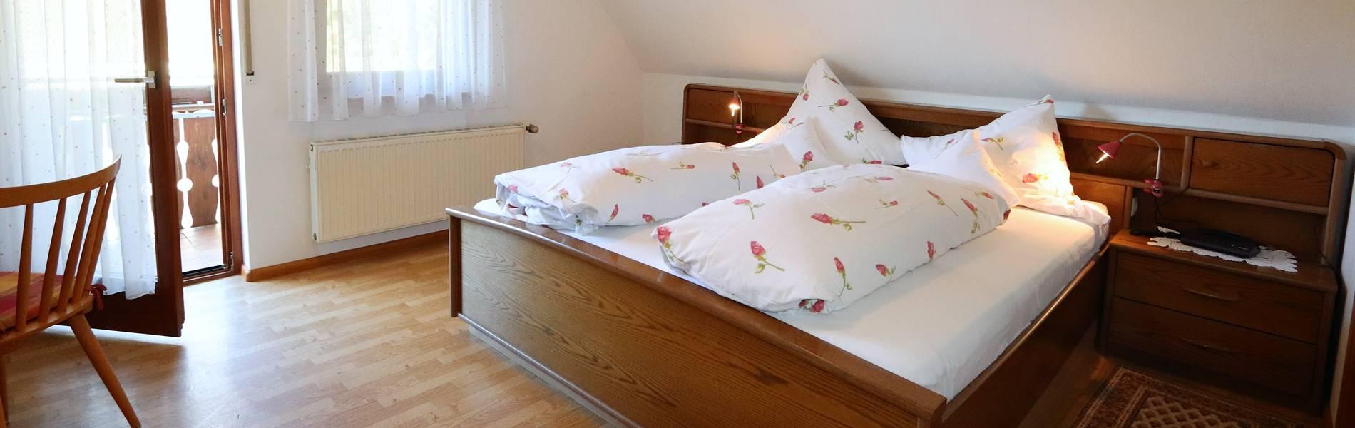 Doppelzimmer Ferienwohnung Buchfink