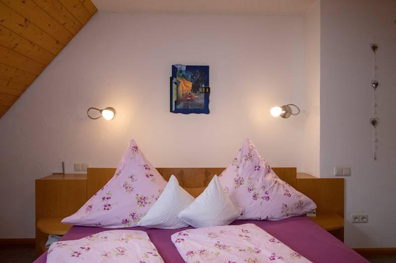 Doppelzimmer in der Ferienwohnung Feldberg
